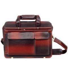 Dolphin Products DP007-Brown Laptop Messenger Bag