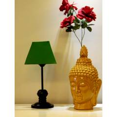 Tucasa Table Lamp with Square Shade, LG-373, Weight: 550 g