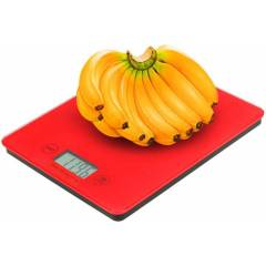 Stealodeal Red Glass Touch Screen Weighing Scale, Weighing Capacity: 3-5kg