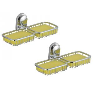 Kamal Classic Double Soap Dish Holder, ACC-0992-S2 (Pack of 2)