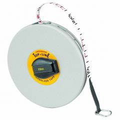 Freemans 10 m Fibreglass Top Line Measuring Tape, FT10 (Pack of 10)