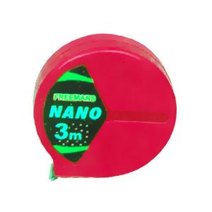 Freemans Nano Red Steel Tape Rules without Lock, Length: 2 m, Width: 13 mm