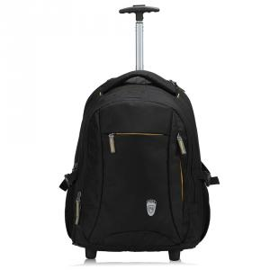 Novex Pacific Polyester Black Backpack