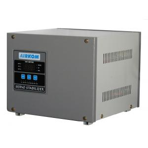 Airkom 5 KVA Single Phase Servo Stabilizer, Input Voltage: 170V-270V