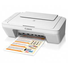 Canon Pixma MG2570 All-in-one inkjet colour printer (white)