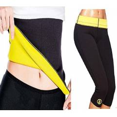 Albio GN-20 Hot Shaper Black Slimming Belt & Pant