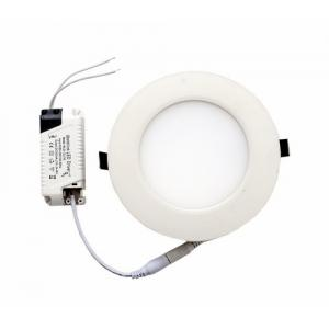 RYNA 12W Round LED Panel Light-White Colour 4.5cm (Pack of 1)