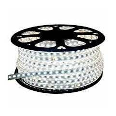 EGK 20m White 3014 SMD LED Rope Light with Adapter