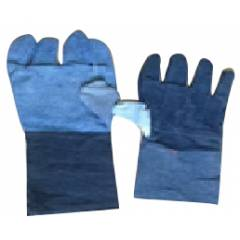 Tee Pee 12 Inch Jeans Safety Gloves (Pack of 10)