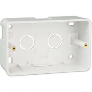 Havells 4M Mounting Plastic Surface Box, AHNXMIZX04 (Pack of 5)
