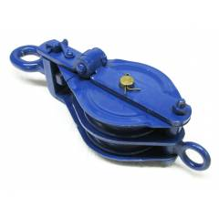 Kepro 10 Ton Double Sheave Wire Rope Pulley Block, KWRP216100