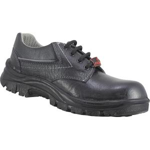 Prima PSF-33 Gold Steel Toe Safety Shoes, Size: 7