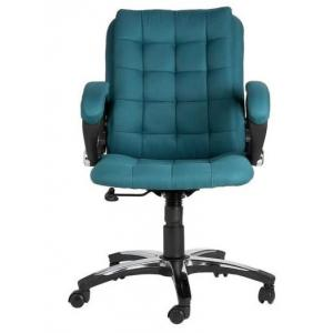 VJ Brillo Ergonomic Medium Back Chair, Colour: Ocean Green