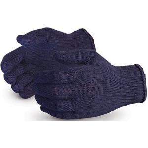 Midas 60 g Blue Cotton Knitted Hand Gloves (Pack of 50)