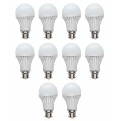 Homes Decor 5W LED Bulb (Pack Of 10)