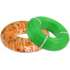 Havells 4 Sq mm Life Shield Halogen Free Green FR Cable, WHFFZNGL14X0, Length: 180 m