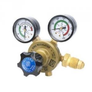 Ador King Two Stage Nitrogen Gas Regulator with Two Gauges