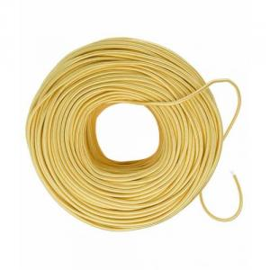Jupiter 90m 6 Sq mm PVC Insulated Yellow Single Core Unsheathed Electrical Wire