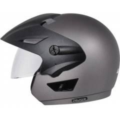 Vega Cruiser WP Dull Anthracite Open Face Motorbike Helmet, Size (Large, 600 mm)