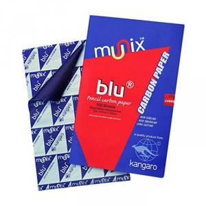 Kangaro BLU Munix Pencil Carbon Paper, Size: 420x330 mm