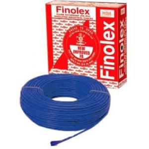 Finolex 50 Sqmm 100m Single Core PVC Blue Heavy Duty Flexible Cable, 14212