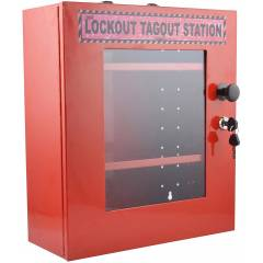 Asian Loto ANL80 Red Person Lockout Station