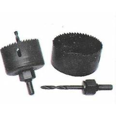 GE Tech Single PC Holesaw With Arbor, (Size: 25 mm)