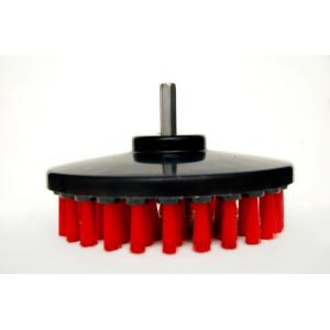 Buff King 5.25 Inch Red Plastic Drill Brush