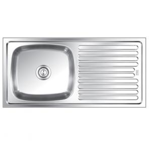 Steelkraft Ssdb 115b Single Bowl Stainless Steel Sink
