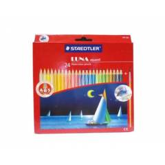 Staedtler 137 TC 24 ABS Luna Aquarell Water Color Pencils (Pack of 24)