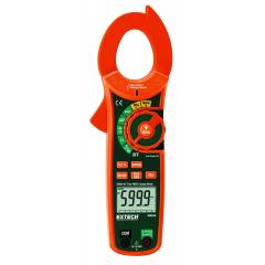Extech True RMS Current Clamp Meter & In-Built Voltage Detector, MA620