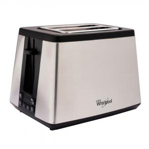 Whirlpool 2 Slices Digital Stainless Steel Pop up Toaster, TT22EUM0