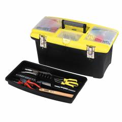 Stanley 16 Inch Plastic Tool Box, 1-92-905 (Pack of 6)