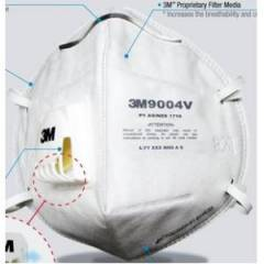 3M Valved Dust/Mist Respirator Mask AS/NZS P1, 9004V (Pack of 5)