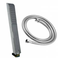 Goonj Hand Shower Sleek With Flexible Tube 1.5 Meter and Wall Hook, VHS-0588-2