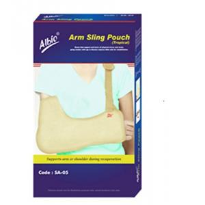 Albio SA-05 Tropical Arm Sling Pouch Hand Support, Size: XL