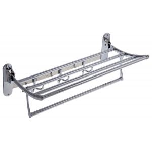 Doma Silver Towel Rack, DM52