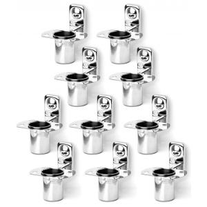 Doyours Metro Series 10 Pieces SS Glossy Tumbler Holder Set, DY-0733