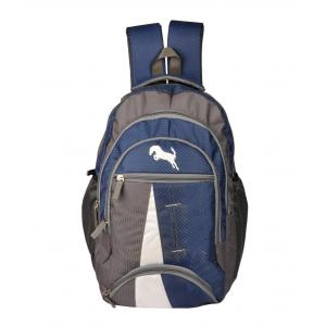 Lapaya Blue Triranga Backpack, BG19BLUE