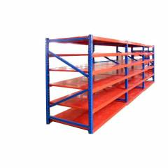 Mild Steel Slotted Angle Rack, Load Capacity: 0-50 kg/Layer