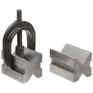 NTC Steel V-Block with Clamp, NSVB-100