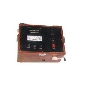 CIE 777HM Motor Cum Hand Operated Insulation Tester, Voltage: 2500 V, Resistance: 0-20000 MΩ