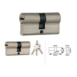Spider Zinc Alloy Pin Cylinder Lock with 3 Brass Computer Keys