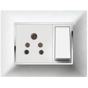 B-Five Dazzling 1 Module Cover Plate, B-061DZ (Pack of 10)