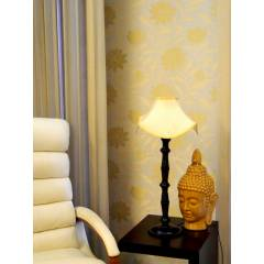 Tucasa Table Lamp with Designer Shade, LG-103, Weight: 800 g