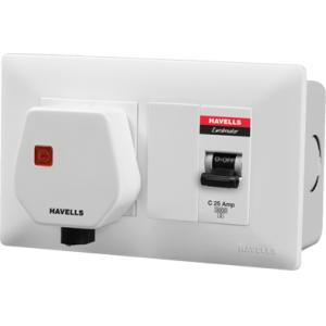 Havells DBOXx MCB Protected Socket (Without Enclosure)-DHDWCM30251016