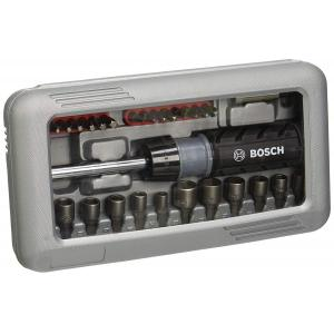 Bosch 46 Pieces Screwdriver Bit Set with Magnetic Universal Holder 2607019504