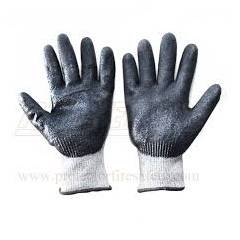 Mallcom 7 Inch NBR Coated Cut Level 5 Safety Gloves with Sandy Finish, H33NBG