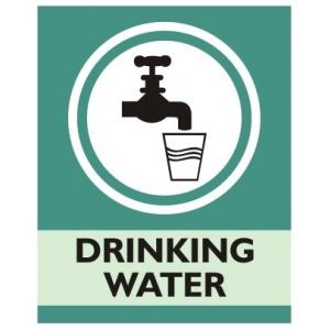 Zatpat Printing C0017 Drinking Water Sign Board, Size: 200x165 mm