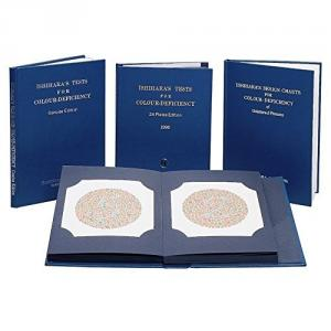 Ishihara 38 Plates Colour Vision Test Book For Color Deficiency